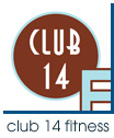 Club 14 Fitness Logo - Florida Health and Fitness Club